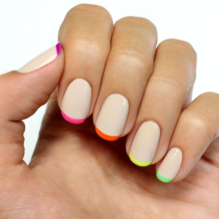 Neon French Tip