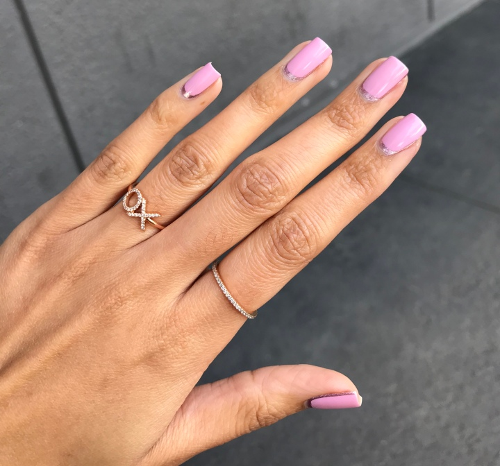 Reverse French Tip – THE POLISH REPORT